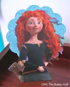 Paper Plate Merida, cheap party decor - OPC The Better Half