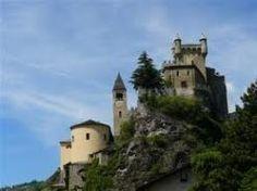 Castello di Saint-Pierre - Saint-Pierre Faux Stone, Amusement Parks, Concrete, Castle, Italy, Dreams, Nice, Building, Water