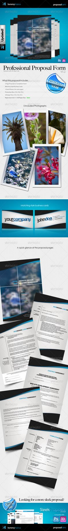 Facebook Advertising Proposal Proposal templates, Proposals and - professional proposal templates