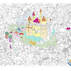 january 2017 7 omy giant magic colouring in poster one size Magic Giant, Magic S, Buy Pictures, Print Pictures, Funny Illustration, Illustrations, Dragons, Coloring Books, Coloring Pages