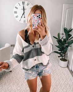 Cute Outfits With Shorts, Cute Beach Outfits, Cute Simple Outfits, Cute Spring Outfits, Casual School Outfits, Summer Outfits For Teens, Trendy Outfits, Cool Outfits, Summer Fashion Outfits