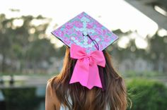 This graduation cap is just too adorable!