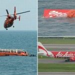 #Tail of #Lost_Plane Raised From #Sea  Agents scanning for secret elements in the slammed Airasia plane lifted the tail parcel out of the Java Sea on Saturday