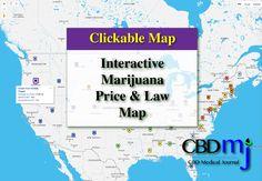69 Best Cbd Medical Journal Exclusives Images In 2017 Medical - Us-marijuana-map-2017