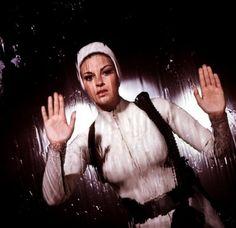 FANTASTIC VOYAGE 1966 Raquel Welch publicity shots..