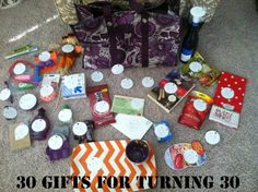 30th Birthday Gift Idea Husband Presents Man Thirty