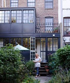 1000 images about townhouses brownstones on pinterest for Second floor sunroom