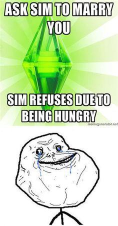 Sims humor