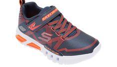Pantofi sport SKECHERS bleumarin, Flex-Glow, din material textil