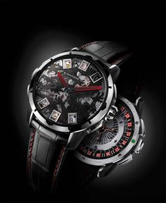 the #art of putting baccarat, dices, roulette at your #wrist in a complicated #Watch""