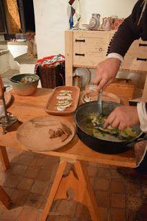 Una ricetta di pesce Soglie di Mastro Martino - FAMALEONIS Ricostruzione Storica Medieval recipe 15th century reenactor ricostruzione storica re-enactment living history italy renaissance