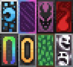 S Custom Shields 1 Minecraft Pe-Cool Banner Designs In Minecraft 1 14 Minecraft Pe, Minecraft Kunst, Minecraft Medieval, Minecraft Construction, Amazing Minecraft, Minecraft Blueprints, Minecraft Crafts, Minecraft Banner Crafting, Minecraft Houses