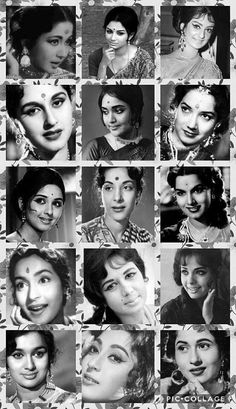 Vintage Beauties from Indian Film Industry Bollywood Cinema, Indian Bollywood Actress, Bollywood Girls, Bollywood Photos, Vintage Bollywood, Beautiful Bollywood Actress, Most Beautiful Indian Actress, Bollywood Stars, Bollywood Celebrities