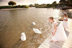 Bridesmaids. Wedding venue in Mudeford, Christchurch Harbour Hotel, Dorset