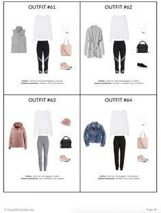 The Athleisure Capsule Wardrobe: Fall 2018 Collection - Classy Yet Trendy Athleisure Trend, Athleisure Outfits, Minimalist Wardrobe, Minimalist Fashion, Capsule Wardrobe Mom, Mom Wardrobe, Wardrobe Ideas, Wardrobe Images, Fall Wardrobe