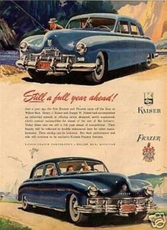 1951 Kaiser Frazer Henry J Favorite Things Pinterest