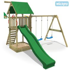 Wooden climbing frame Smart Empire climbing tower