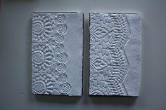 quaderni con copertina di carta fatta a mano Manolibera, design Giulia Forti