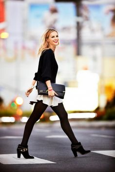 Jimmy Choo Melba boot in black suede Jimmy Choo Alison bag in black Vanessa Bruno Sweater Isabel Marant Skirt