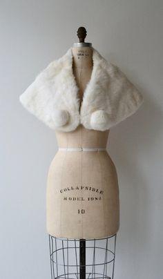 Rabbit fur stole vintage 1950s fur stole white fur wrap | Etsy Fur Wrap, Fur Stole, White Fur, Rabbit Fur, Vintage Accessories, 1950s, Closet, Etsy, Fashion