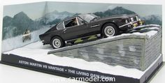EDICOLA BONDCOL014 1/43 ASTON MARTIN V8 VANTAGE 1977 - 007 JAMES BOND - THE LIVING DAYLIGHTS - 007 ZONA PERICOLO