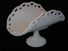 Indiana Colony Milk Glass Dish, circa 1950s-70s-$33.00