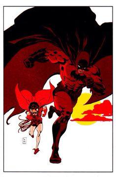 Batman & Robin by Tim Sale (2000)