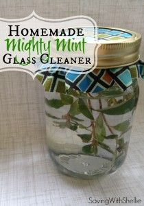 DIY: Mighty Mint Glass Cleaner