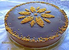 tarta-yogur-chocolate RED Pastel Cakes, Cupcake Cakes, Cupcakes, Sin Gluten, Cheesecakes, Tiramisu, Great Recipes, Yogurt, Birthday Cake