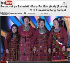 2012 Eurovision Song Contest (Russia) /Never too late to be a rockstar :)