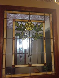 Hanging Stained Glass, Antique Stained Glass Windows, Stained Glass Door, Stained Glass Flowers, Stained Glass Designs, Stained Glass Panels, Stained Glass Projects, Stained Glass Patterns, Leaded Glass