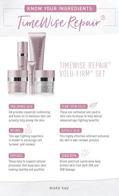 Powerhouse ingredients, age-fighting innovations! Get to know exactly how this innovative, age-fighting skincare regimen works. | Mary Kay