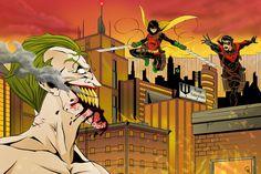 Attack on Batman by TimelessUnknown on DeviantArt