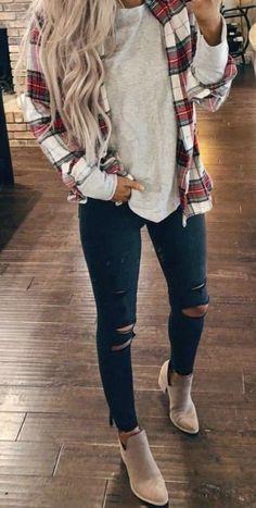 Classy Fall outfits For Women, fall fashion trends, fall outfit inspiration - Fall Fashion Winter Outfits For Teen Girls, Classy Fall Outfits, Fall Fashion Outfits, Casual Winter Outfits, Fall Fashion Trends, Look Fashion, Autumn Fashion, Fashion 2020, Womens Fashion