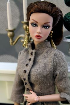 Poppy Parker fashion editor.