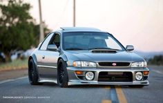 This would be my style for a street legal time attack WRX GC8