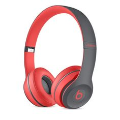 Beats by Dr. Dre Solo2 Wireless Headphones, Active Collection - Apple / Red and Gray!!! http://www.apple.com/shop/product/MKQ32AM/A/beats-by-dr-dre-solo2-wireless-headphones-active-collection?fnode=7a