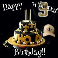 New Orleans Saints Football Birthday Wishes Happy Meme Quotes