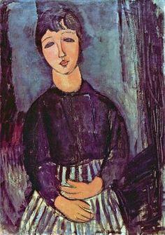 Portrait of Zofe Amedeo Modigliani