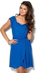 Only Rosey Dress Olympian Blue Bubbleroom.fi