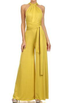 jumpsuits-for-women - Womens Fashion 1 Jumpsuit Outfit, Dress Outfits, Fashion Dresses, Backless Jumpsuit, Work Outfits, Look Fashion, Womens Fashion, Fashion Design, Fashion Trends
