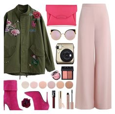 """""""Parka"""" by cowseatchard ❤ liked on Polyvore featuring Zimmermann, Givenchy, Fendi, Deborah Lippmann, Beautycounter and NARS Cosmetics"""