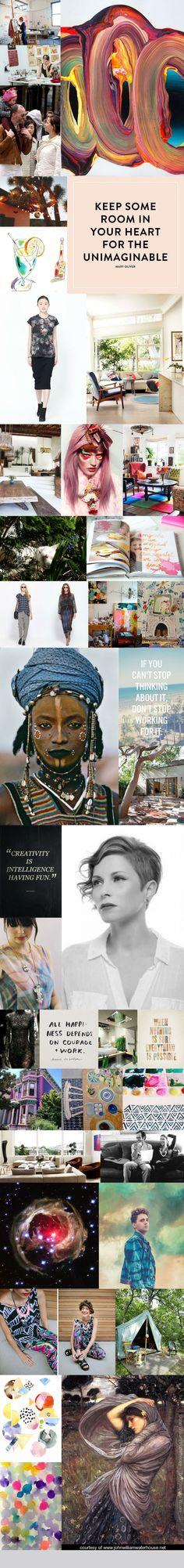 Ma collection d'images, carte créée via le projet www.lavieestfascinante.com #lavieestfascinante #inspiration #vision #imagination