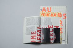 Layers of meaning, printed letters unify the whole set.