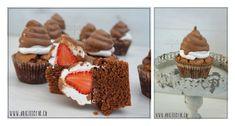 Schokokuss Cupcake Waffles, Breakfast, Desserts, Food, Cool Cupcakes, Molten Chocolate, Oven, Dessert Ideas, Easter Activities