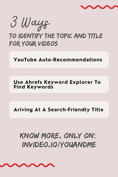 YouTube Topic and Title advice. Steve Dotto Show Ep.6: The Ultimate Guide On How To Get More Views On YouTube with Nick Nimmin. Visit the whole master class video and learn all about YouTube Marketing! How To Get, How To Plan, You Youtube, You Videos, Master Class, Channel, Advice, Marketing, Tips