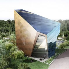 """Snøhetta designs """"potentially world-changing office building"""" Powerhouse Telemark for small Norwegian town"""