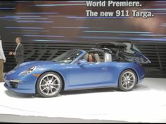 The True Porsche Targa Is Back! w/Video of hidden roof http://www.chasewgregory.com/2014/01/omg-true-porshce-targa-is-back-with.html