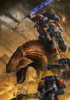 Warhammer 40k Art, Warhammer Fantasy, Here Be Dragons, John Stones, Tecno, Dungeons And Dragons Homebrew, Space Wolves, Dragon Design, Angel Of Death