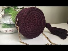 Popcorn Model Macarons Bag Making – Knitting And We Sewing Labels, Popcorn Bags, Bag Hanger, Embroidery Bags, Hello Ladies, Round Bag, Crochet Handbags, Crochet Videos, Sewing Accessories